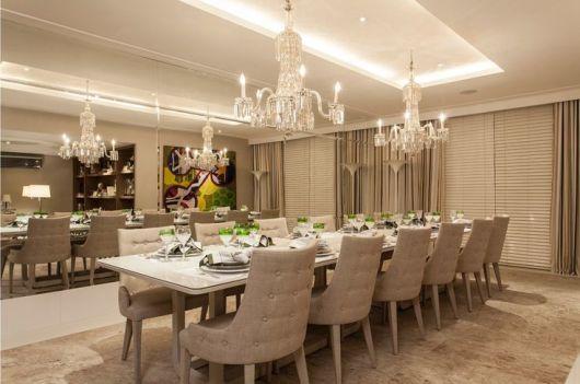 Sala De Jantar Casas Bahia ~ sala de jantar de luxo
