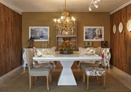 Sala de jantar moderna 50 fotos e como decorar for Sala moderna 2018