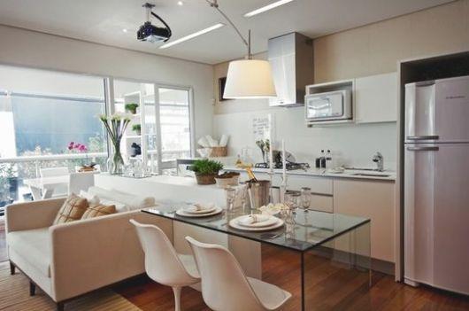 Sala de jantar moderna: 50 fotos e como decorar!