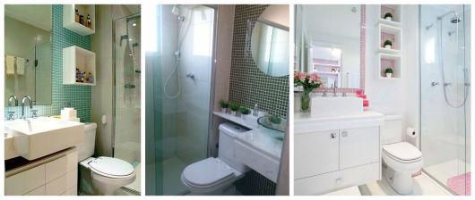BANHEIRO SIMPLES tipos de acabamentos e como decorar! -> Decorar Banheiro Simples