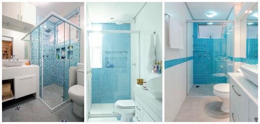 BANHEIRO SIMPLES 45 Dicas, Acabamentos e como Decorar! -> Acabamento Banheiro Simples