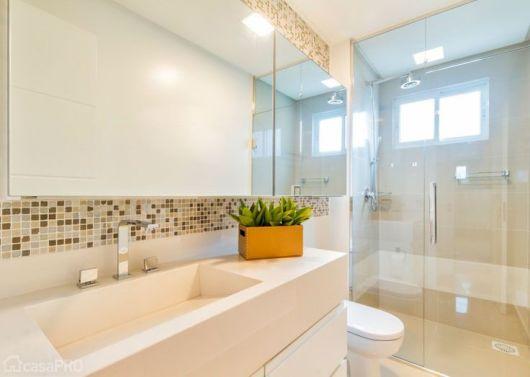 BANHEIRO SIMPLES tipos de acabamentos e como decorar! -> Banheiro Simples Grande