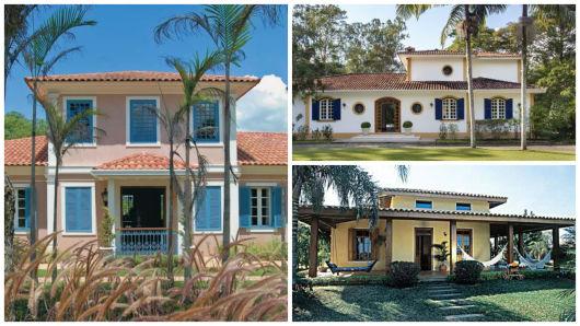 Casas coloniais caracter sticas projetos e fotos for Fotos de casas modernas brasileiras