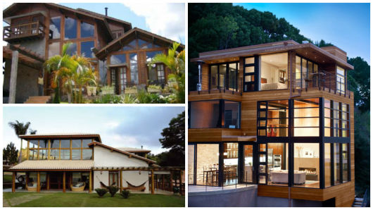 modelos casa de madeira