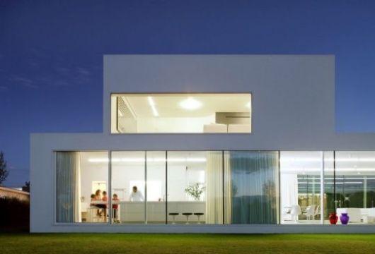Casa de vidro 30 fachadas e projetos for Casa di vetro contemporanea