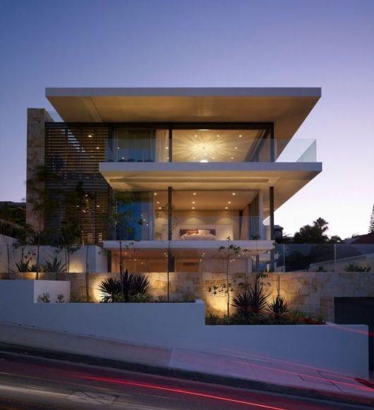 Casa de vidro 30 fachadas e projetos for Casas super modernas fotos
