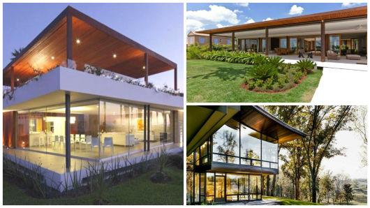 tipos casas modernas