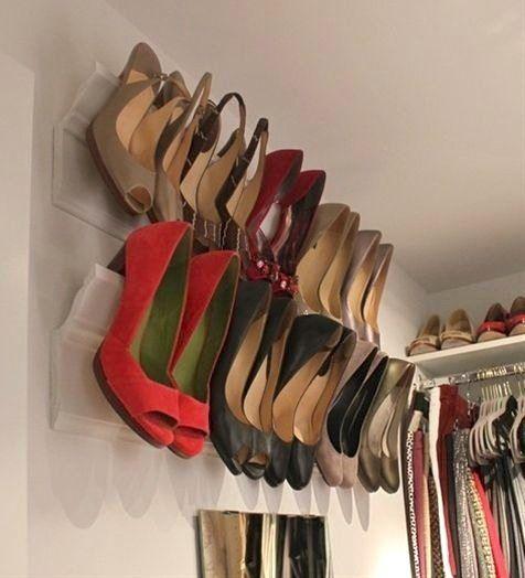 dica para guardar sapato
