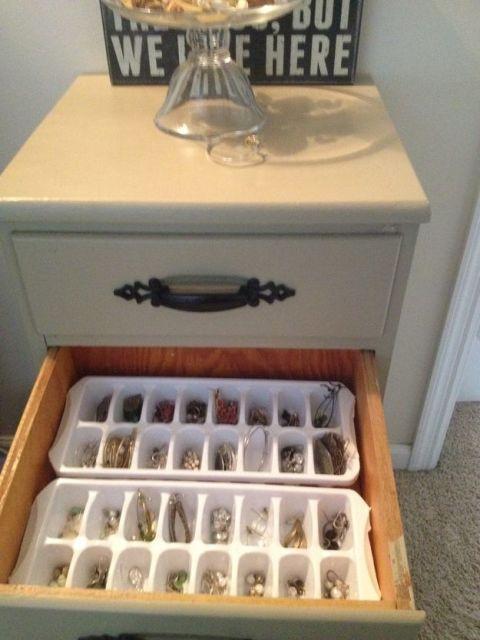 como organizar bijuterias
