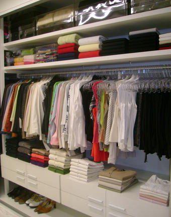 Closet pequeno dicas de organiza o e modelos for Modelos de closets