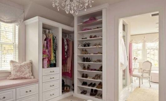 armários brancos