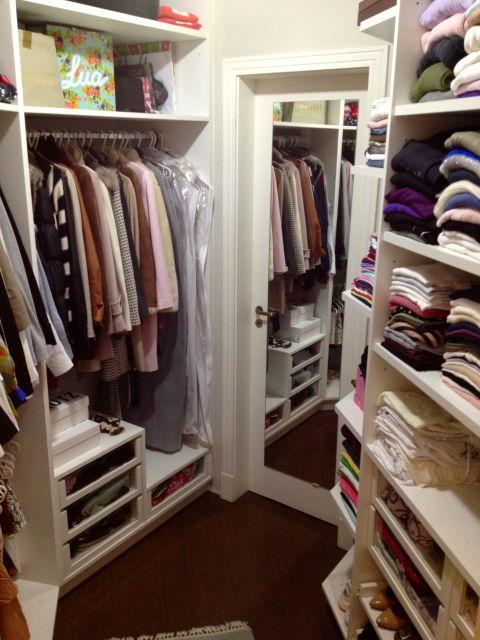 CLOSET PEQUENO dicas de organização e modelos! # Closet Pequeno Com Banheiro