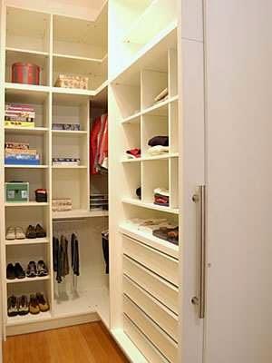 Closet pequeno as melhores dicas de organiza o e for Closets para apartamentos pequenos