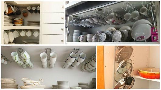 como arrumar armários