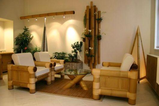móvel de bambu