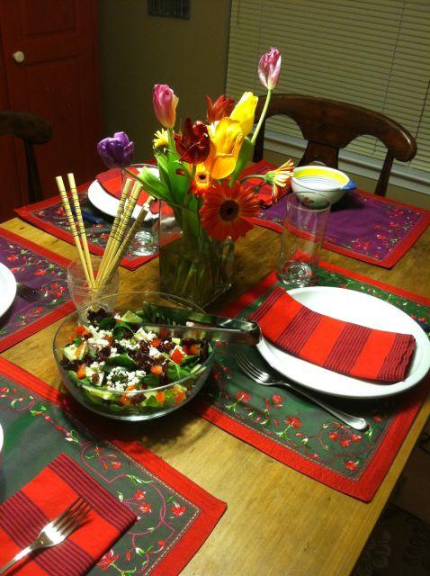 enfeite mesa