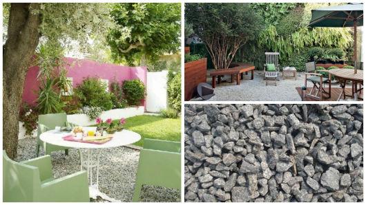 pedras de jardim branca : pedras de jardim branca:JARDIM COM PEDRAS: tipos e fotos!