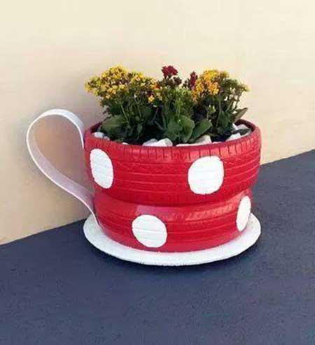 decoração vaso