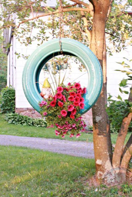 árvore com flores