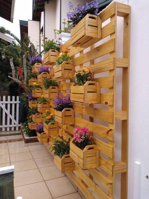 jardim vertical de pallet