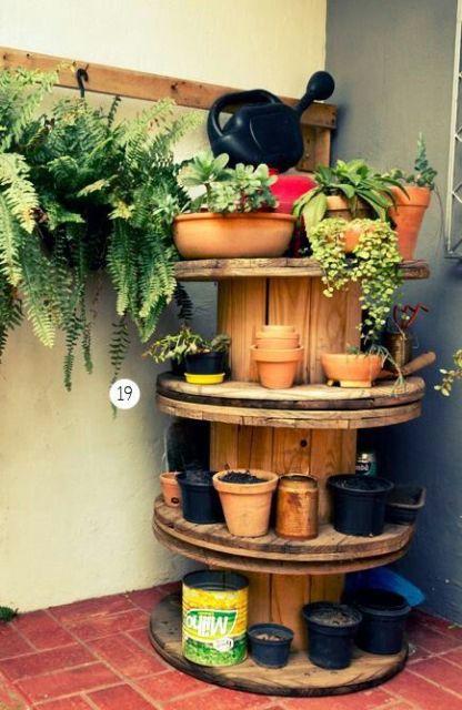 Jardim simples 30 ideias e dicas econ micas imperd veis - Reciclaje jardineria y decoracion ...