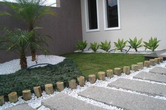 Jardim simples 30 ideias econ micas for Adornos jardin baratos