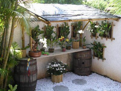 Jardim simples 30 ideias e dicas econ micas imperd veis - Como decorar un jardin rustico ...