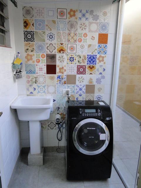 Lavar Azulejo Banheiro : Ladrilho hidr?ulico modelos e ambientes decorados