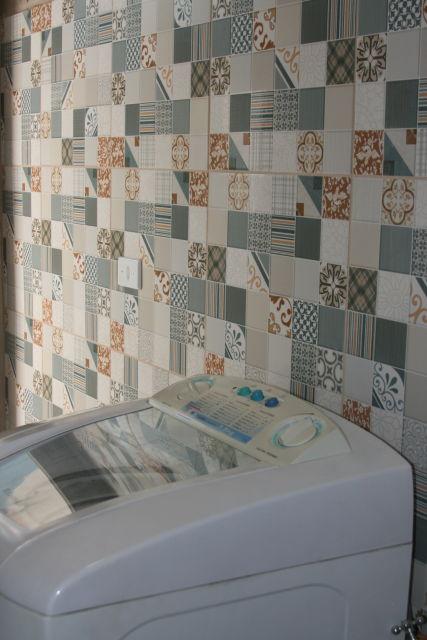 LADRILHO HIDRÁULICO 60 Dicas, Modelos e Ambientes Decorados! -> Banheiro Decorado Ladrilho Hidraulico