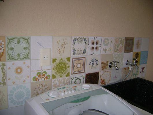 decoração lavanderia