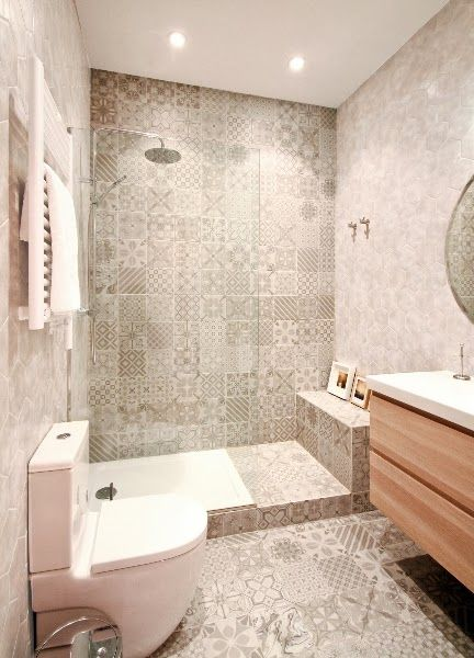 LADRILHO HIDRÁULICO modelos e ambientes decorados! -> Banheiro Decorado Ladrilho Hidraulico