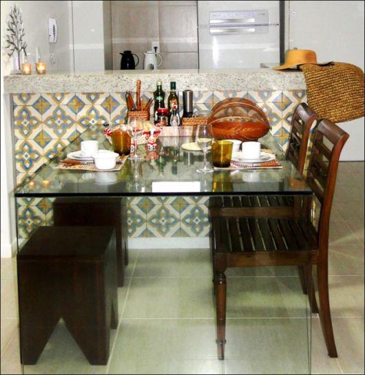 sala de jantar integrada