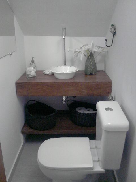 decoração lavabo pequeno