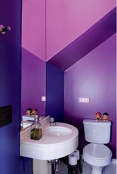 parede roxa