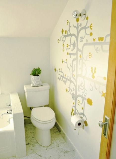 Bathroom remodel cost tile shower cost of tiling a bathroom bathroom - Lavabo Embaixo Da Escada 25 Ideias Para Decorar
