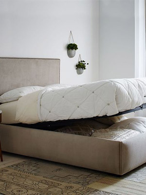 cama com baú