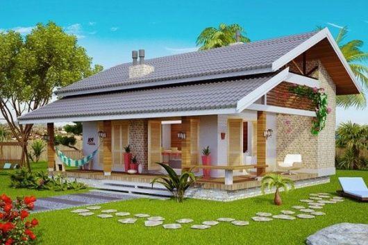 projeto telhado aparente