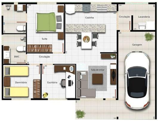 50 modelos de casas pequenas plantas e projetos - Plantas para casa ...