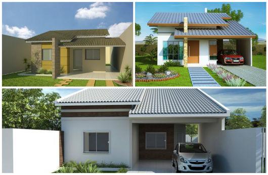 modelos telhado visível