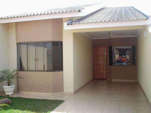 50 modelos de casas pequenas plantas e projetos for Modelos de fachadas para casas