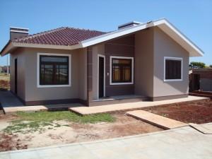 50 modelos de casas pequenas plantas e projetos for Pinturas bonitas para casas
