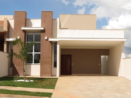 50 modelos de casas pequenas plantas e projetos for Fachadas modernas para casas pequenas de una planta