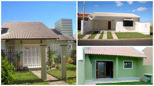 modelo telhado aparente