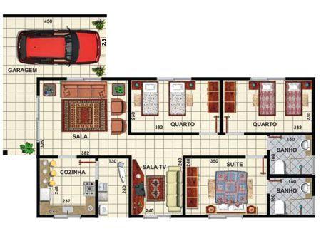 50 Modelos De Casas Pequenas Plantas E Projetos