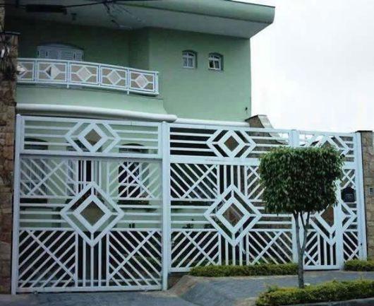 Excepcional MODELOS DE GRADES: portões, sacadas, portas e janelas ZF49