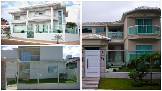 vidro frente casa