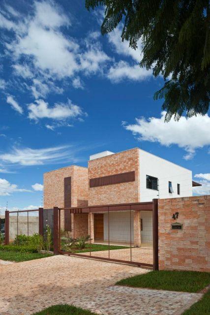 fachada tijolo a vista