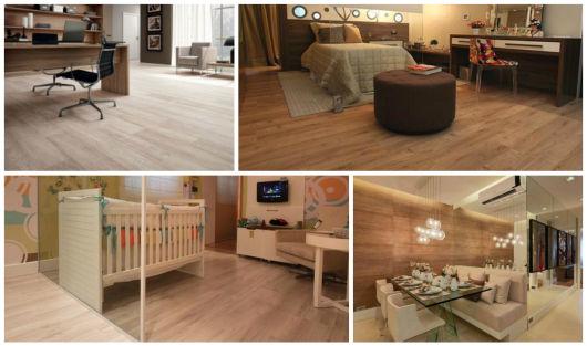 piso madeira clara