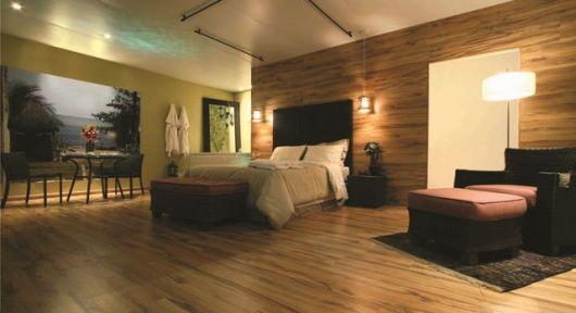 painel piso laminado parede