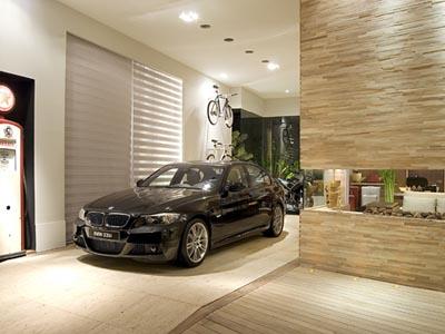 modelo de garagem